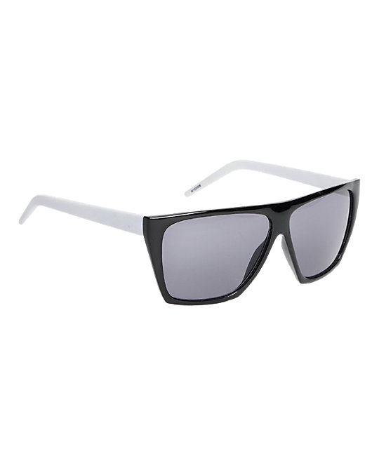 Jack Martin Sturdy Wings Black & White Sunglasses