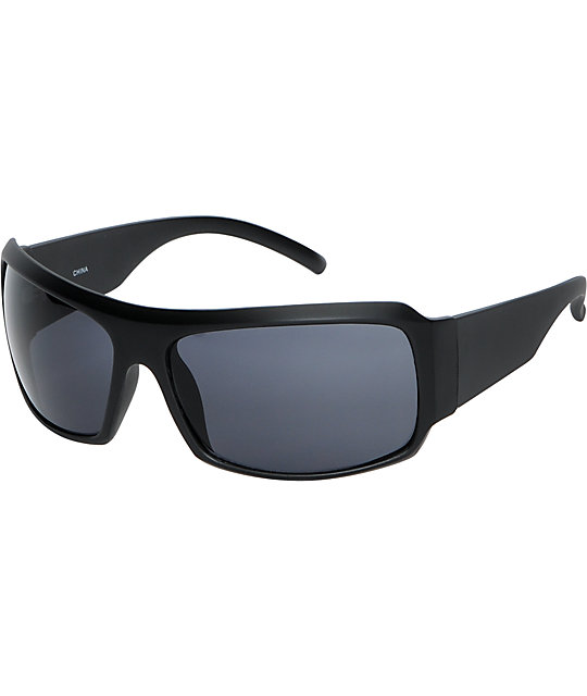 Jack Martin The Perpetrator Matte Black Sunglasses