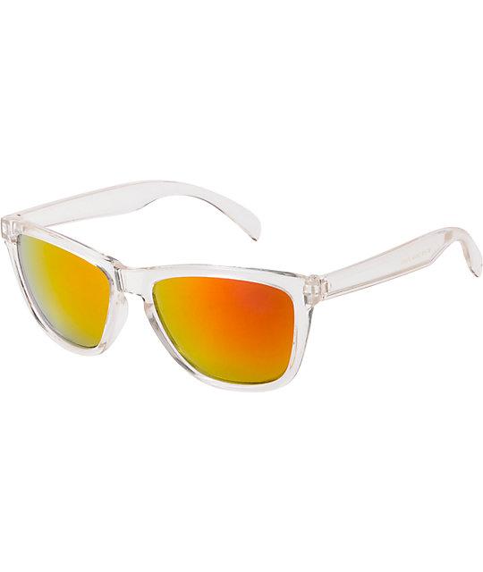 Jack Martin Tube Steak Clear Sunglasses