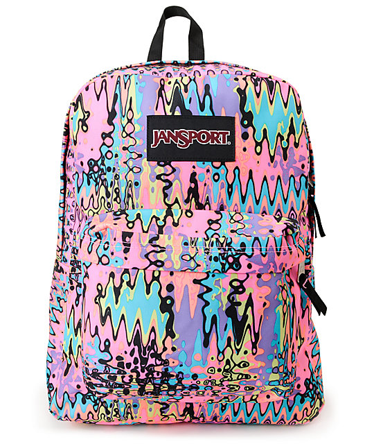 Jansport Black Label Neon Superbreak Backpack at Zumiez : PDP