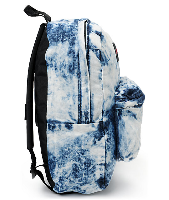 Jansport Denim Daze Acid Blue Backpack