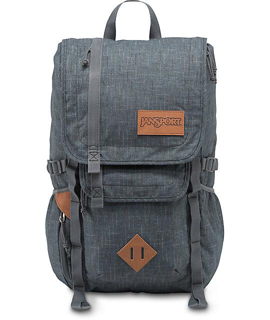 Jansport Hatchet Special Edition Grey Vanishing Ripstop 28L Backpack
