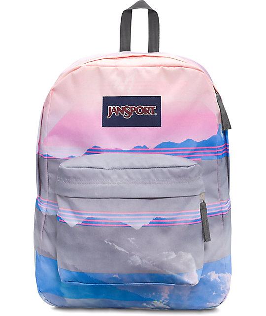 Jansport High Stakes Multi Linear Skies Backpack