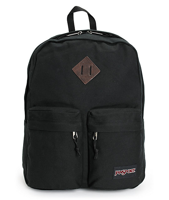 Jansport Hoffman Black Backpack at Zumiez : PDP