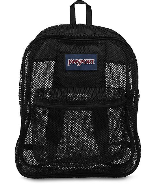 Jansport Mesh Black 32L Backpack