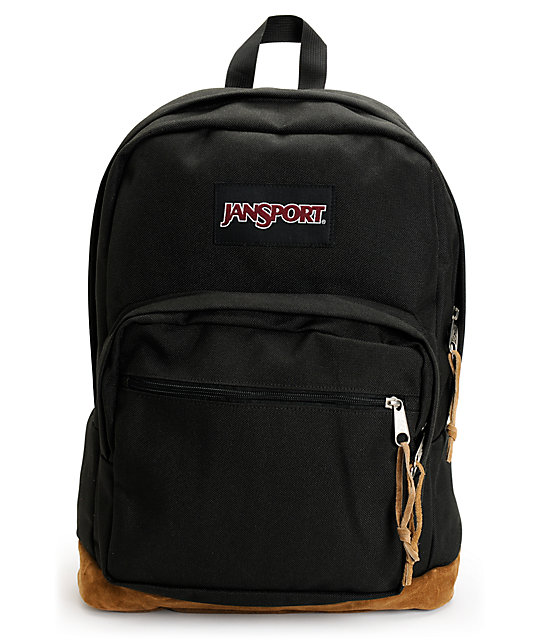Jansport Right Pack Black Laptop Backpack at Zumiez : PDP
