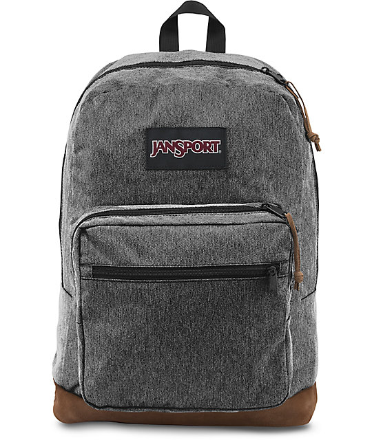 Jansport Right Pack Digital Edition 31L Black & White Herringbone ...