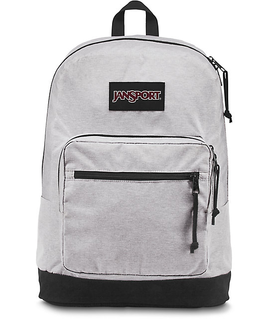 Jansport Right Pack Digital Heather Grey 31L Backpack | Zumiez