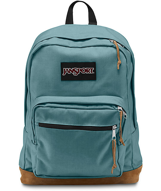 Jansport Right Pack Frost Teal Backpack at Zumiez : PDP