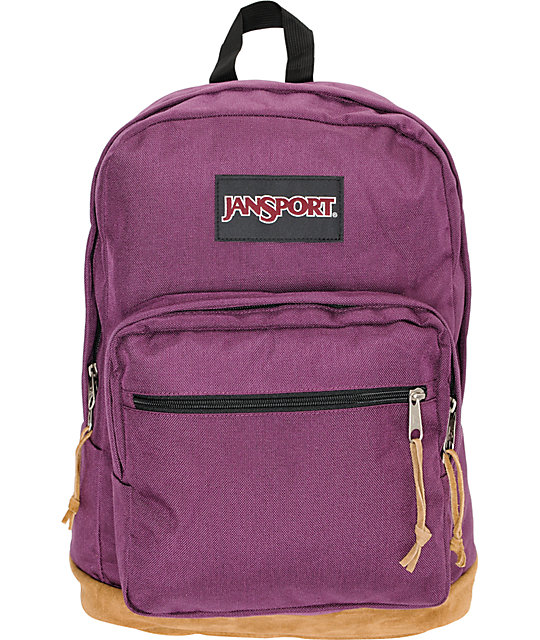 Jansport Right Pack Purple Backpack at Zumiez : PDP