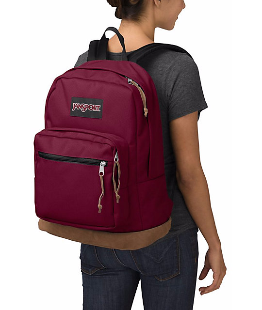 Jansport Right Pack Russet Red 31L Backpack | Zumiez
