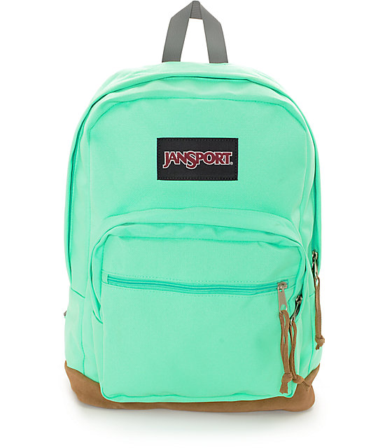 Jansport Right Pack Seafoam Green Backpack At Zumiez : Pdp
