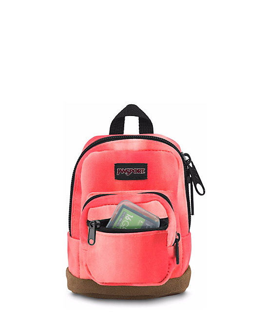 Jansport Right Pouch Sunkissed Canvas .05L Mini Backpack