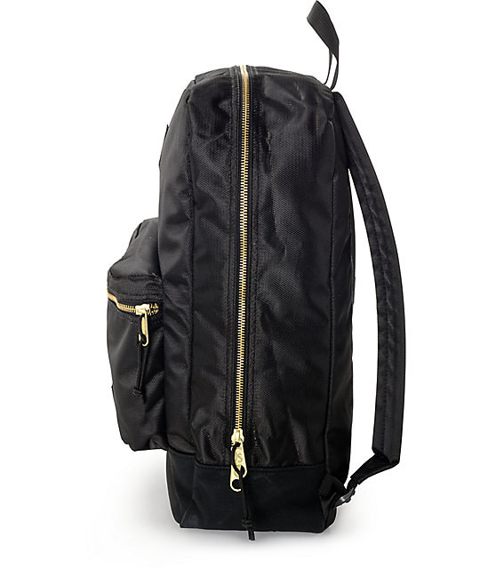 Jansport Super FX Black & Gold 25L Backpack