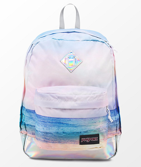 Jansport Super Fx Multi Sunrise 25l Backpack Zumiez