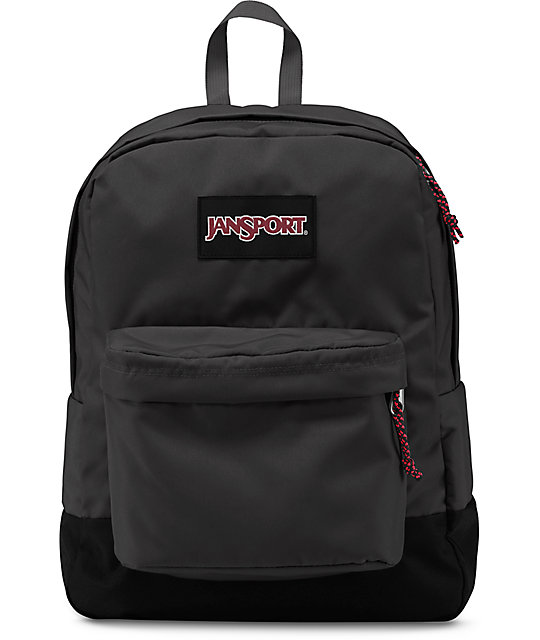 Jansport Superbreak Forge Grey 25L Backpack | Zumiez
