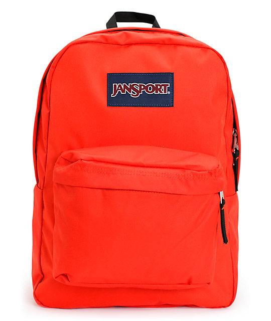 Jansport Superbreak High Red Backpack
