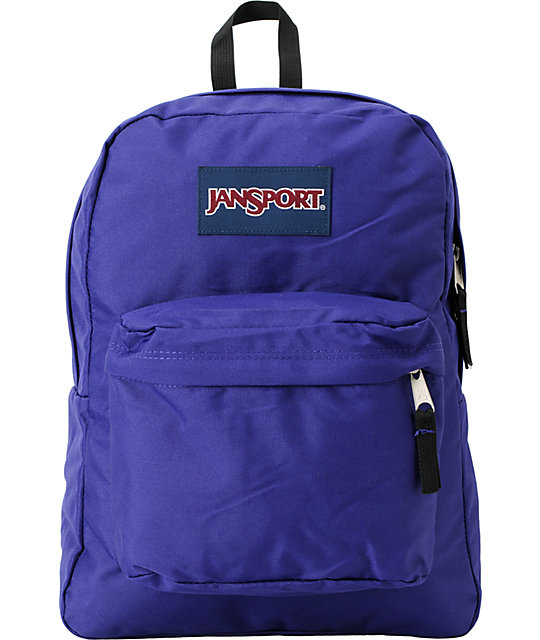 Jansport Superbreak Purple Backpack