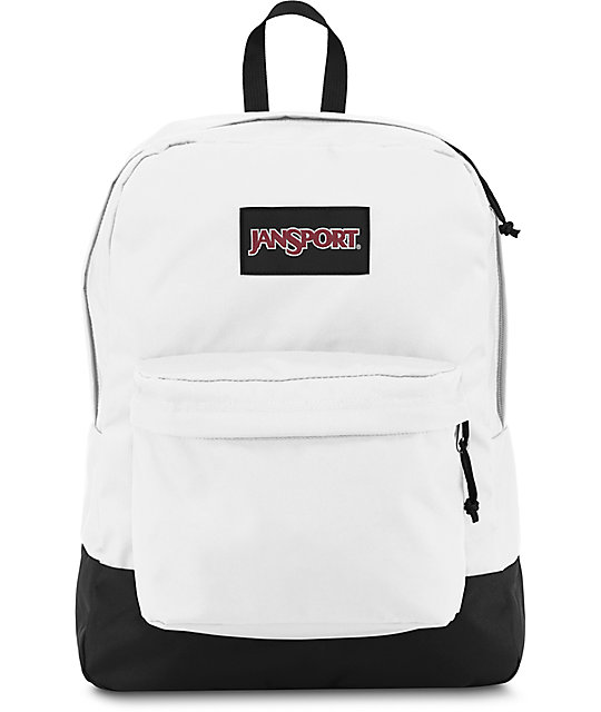 Jansport Superbreak White 25L Backpack