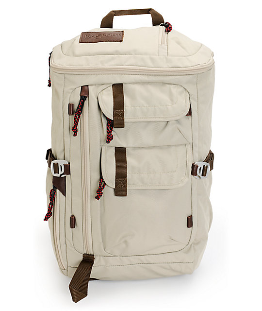 Jansport Watchtower Beige Backpack