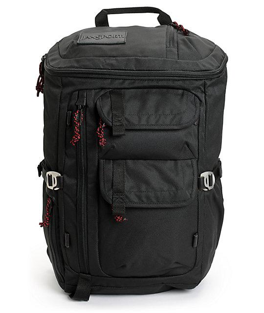 Jansport Watchtower Black Backpack