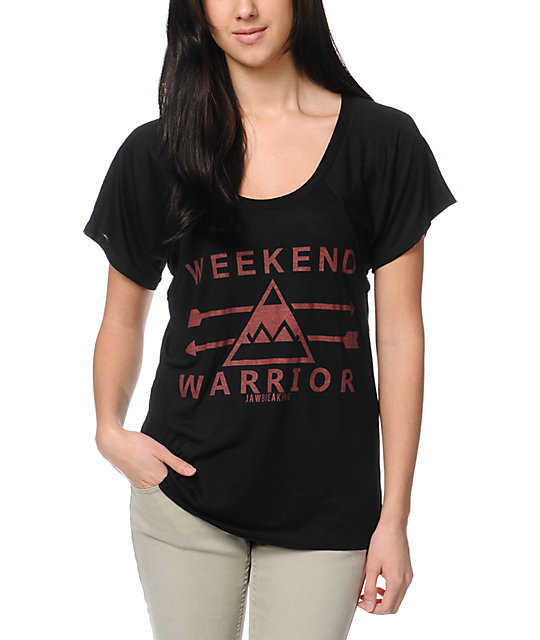 Jawbreaking Weekend Warrior Black T-Shirt