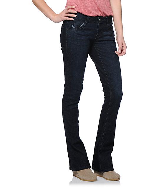 Jolt Itty Bitty Boot Dark Wash Bootcut Jeans