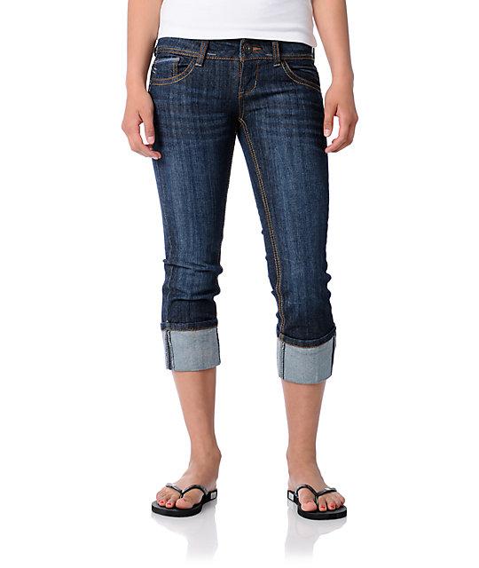Jolt Margarita Cropped Jeans