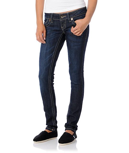 Jolt Quartz Dark Skinny Jeans