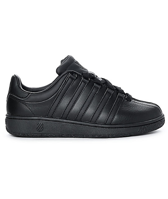 K-Swiss Classic VN All Black Shoes