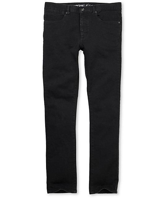 KR3W  K-Skinny Charcoal Grey Super Skinny Jeans