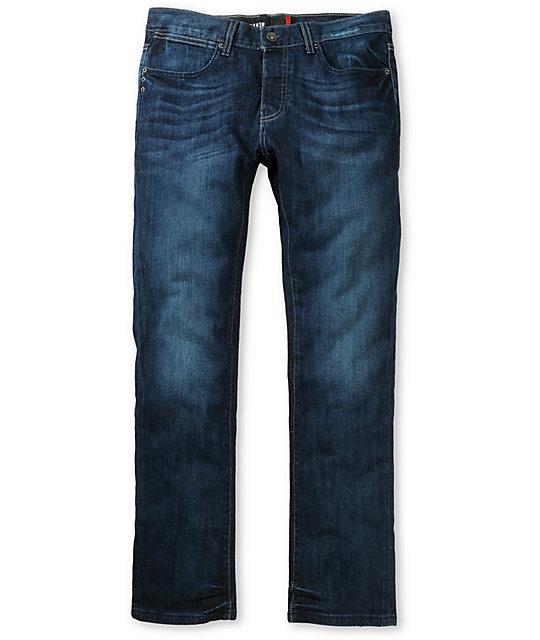 KR3W Aged Blue K Slim Jeans