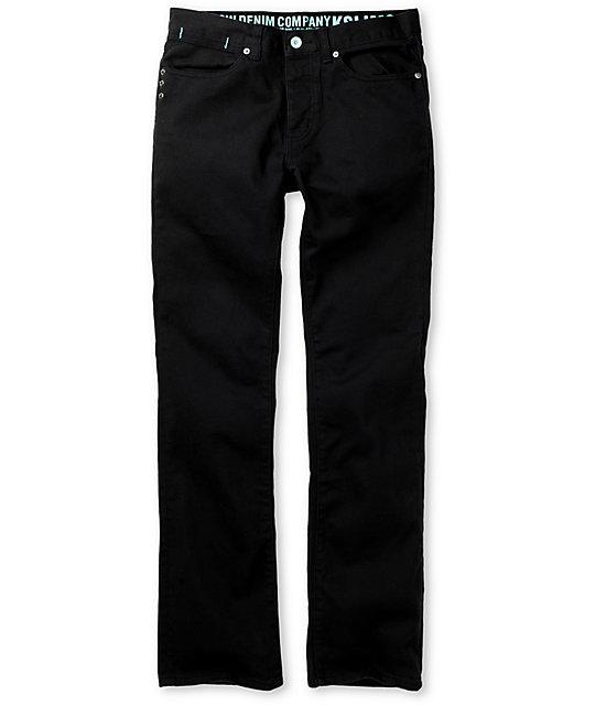 KR3W Black Kore K Slim Jeans
