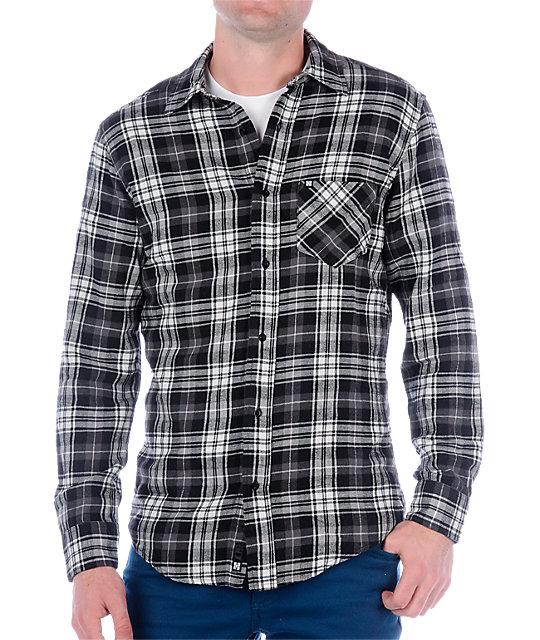 KR3W Boss Grey Flannel Shirt