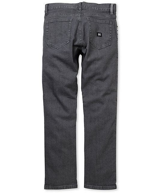 KR3W Boys Grey K Slim Jeans