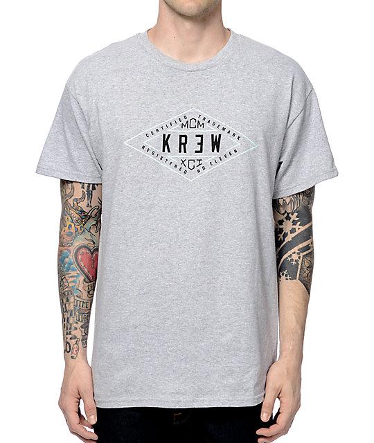 KR3W Certified Heather Grey T-Shirt