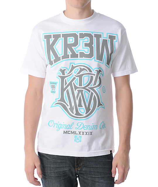 KR3W Champion White T-Shirt