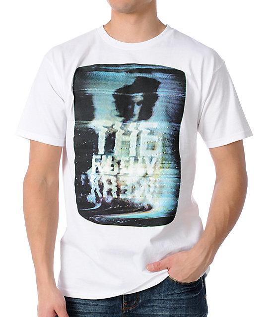 KR3W Channel Basic White T-Shirt