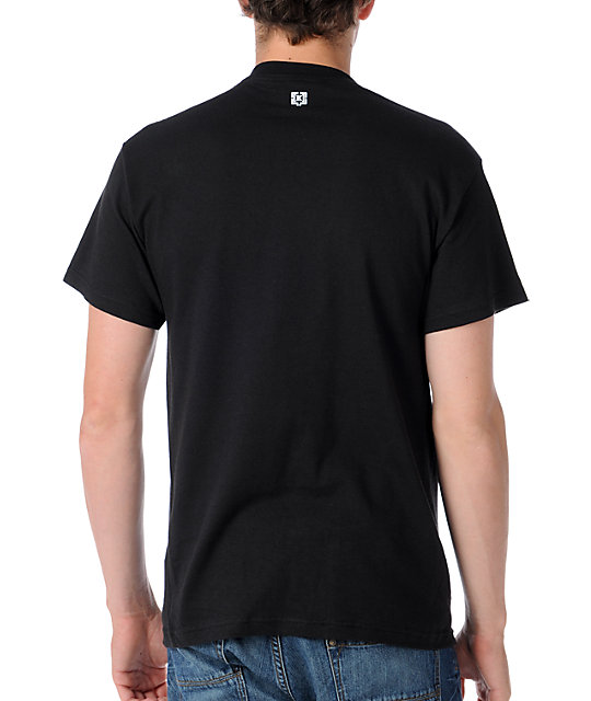 KR3W Cities Chicago Mens Black T-Shirt
