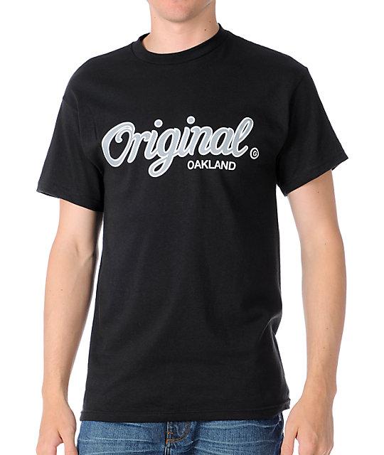 KR3W Cities Oakland Mens Black T-Shirt