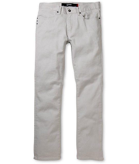 KR3W Cobble Grey K Slim Jeans