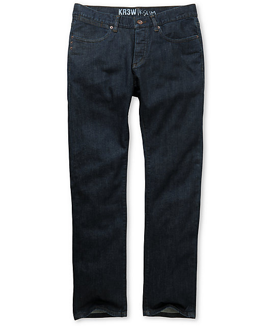 KR3W Dry Blue K Slim Jeans