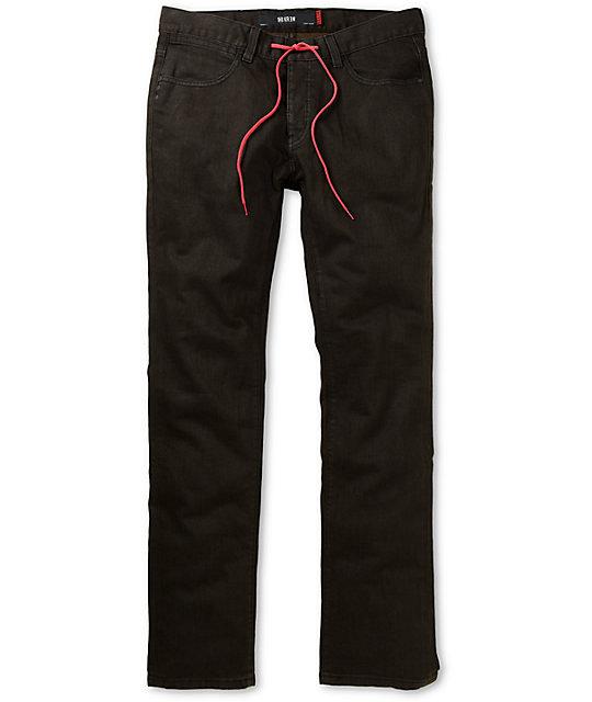 KR3W Erik Ellington Brown K Slim Jeans