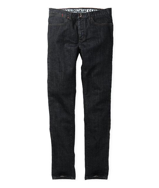 KR3W K-Skinny Dry Blue Super Skinny Jeans
