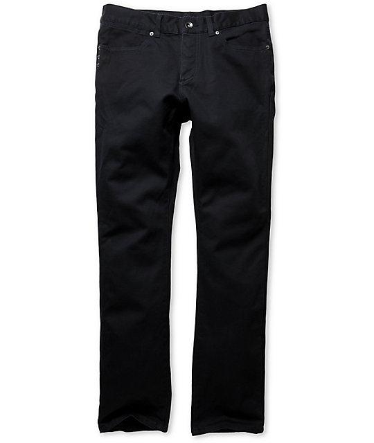 KR3W K Slim Blue Slim Fit Twill Pants