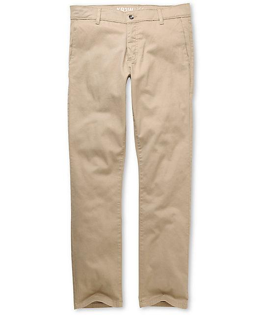 KR3W K Slim Khaki Chino Pants
