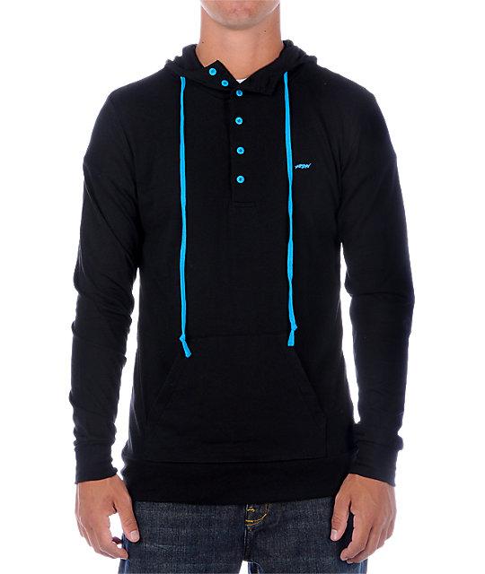 KR3W Kavern Black Pop Long Sleeve Knit