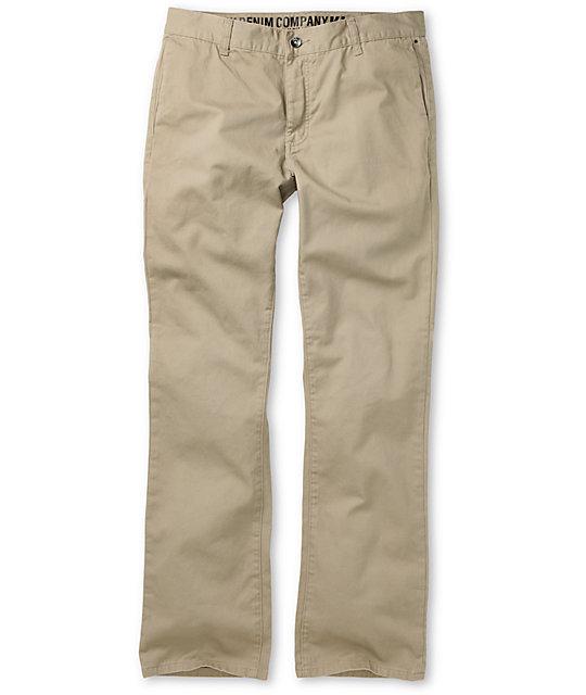KR3W Klassic Khaki Chino Pants