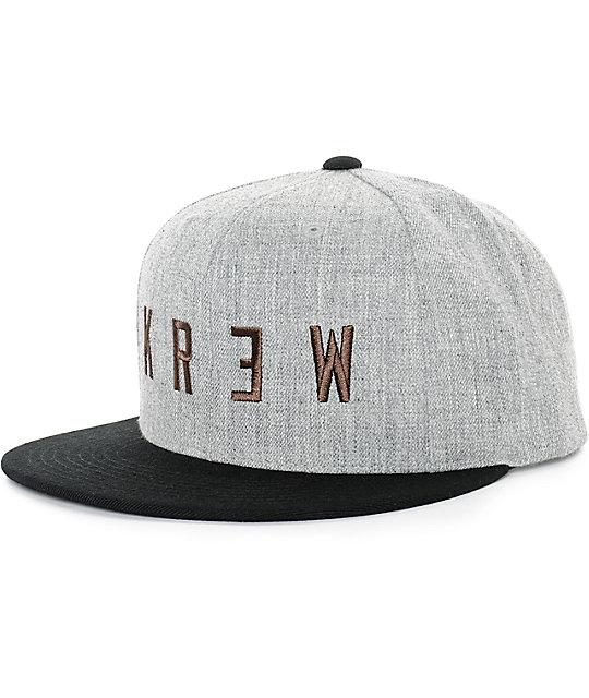 KR3W Locker 2 Snapback Hat