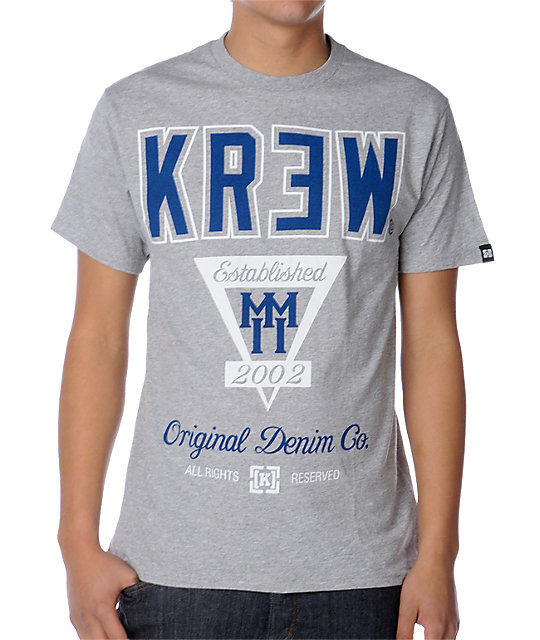 KR3W MMII Heather Grey T-Shirt